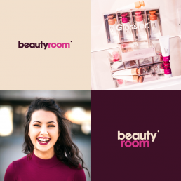 Beauty Room branding design