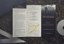 Richard Hamblin tri fold leaflet