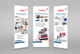 Trotec roll up banners