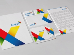 barron stationery design